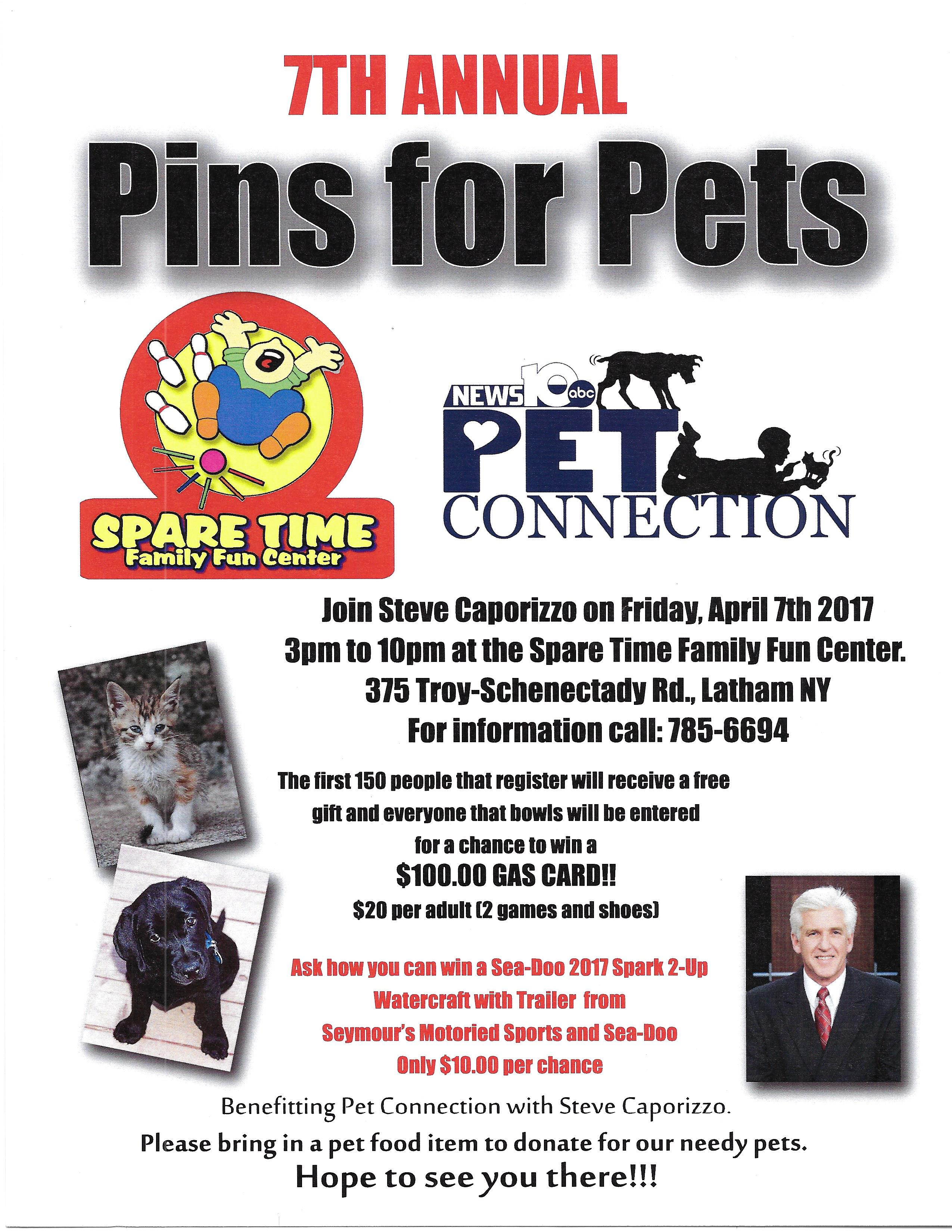 The Animal Support Project » 7th Annual Pins 4 Pets – BOWL