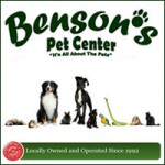 Bensons Pet Center Link