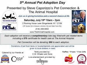Pet Connection Flyer 2014