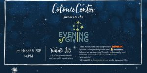 Colonie Center's Evening of Giving @ Colonie Center